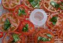 La deshidratación en un deshidratador de alimentos