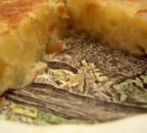 La tortilla, sin cebolla