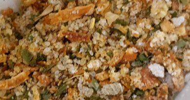 Mezcla sazonador para patatas