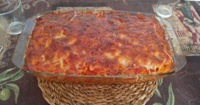 Macarrones boloñesa gratinados al horno