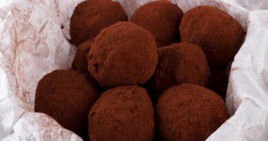 Una receta super fácil unas trufitas de chocolate
