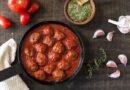 Albóndigas de ternera caseras en salsa