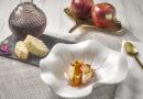 Vino de manzana bizcocho de nata montada